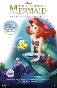 LITTLE MERMAID SIGNATURE COLLECTION POSTER US 8050372