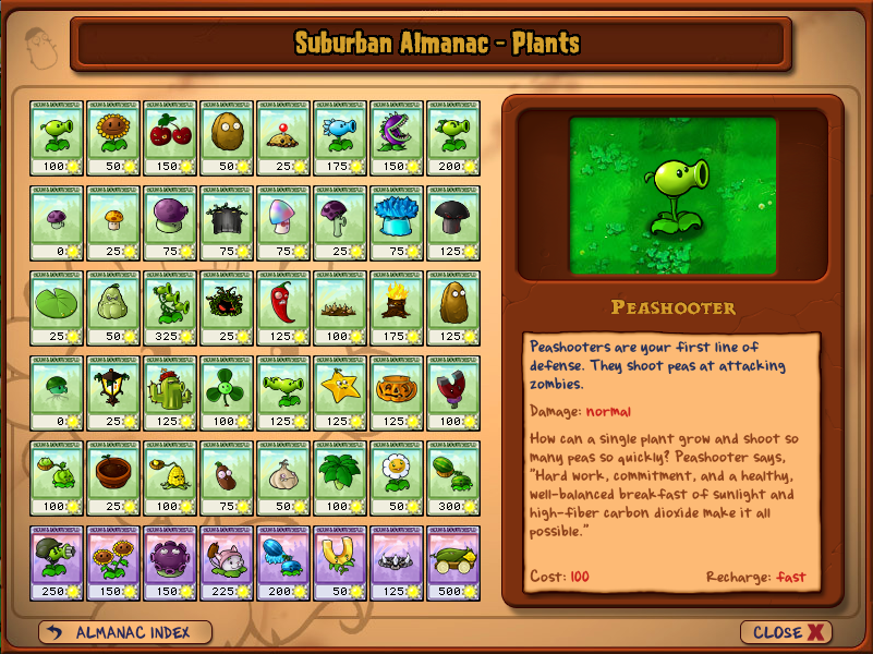 Plants (Plants vs. Zombies)