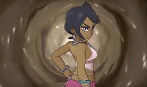 Pokemon sun and moon olivia screenshot