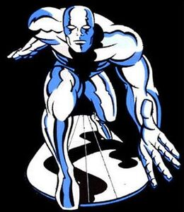 Silver Surfer animated