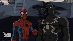 Spider-Man and Agent Venom