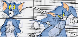 Tom and Jerry (2020 film) Storyboard 4