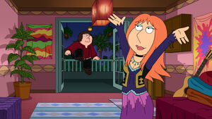 Peter and Lois in Rock Hark