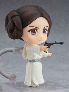 Princess Leia Nendoroid (holding blaster pistol)