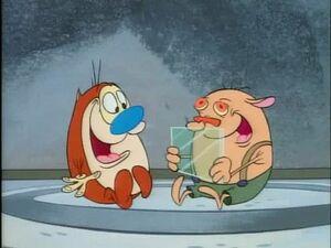 Stimpy and Sven
