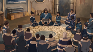 Southern Water Tribe meeting