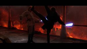 Vader face kick
