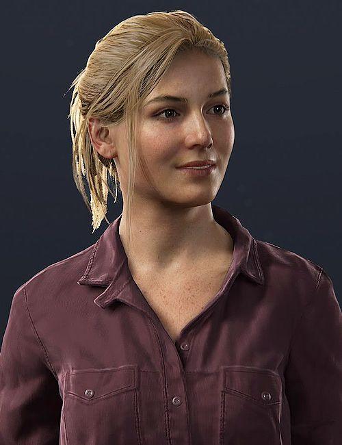 Elena Fisher 25 nhân vật nữ trong game được xem là truyền cảm hứng nhất