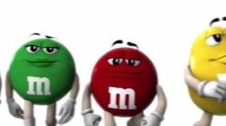M&M's - Power Walk A Parody of Monsters Inc. Bloopers (2010, USA)