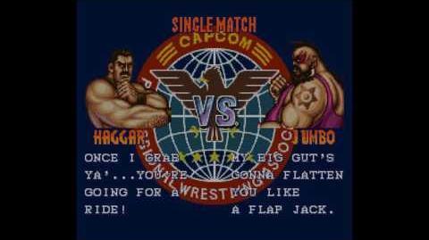 Saturday Night Slam Masters (Super Nintendo) - (Longplay - Mike Haggar Hard Difficulty)