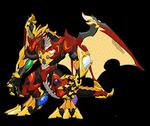 BAA Dragonoid Infinity Max (Anime)
