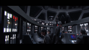 Darth Vader destroyer bridge
