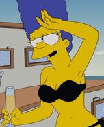 Bikini Marge Simpson
