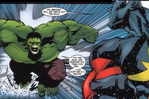 Genis meets hulk