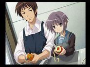 Kyon and Yuki