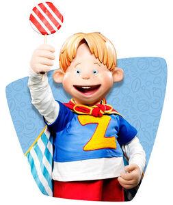 Nick Jr. LazyTown Ziggy Holding His Lollipop