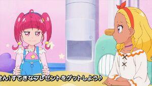 STPC24 Elena wonders why Hikaru has the shaved ice maker