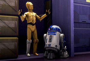 C-3PO and R2-D2 in Star Wars Rebels