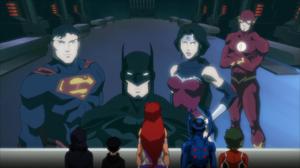 Justice League & The Titans JLvsTT