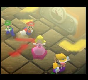 Mario party 64 mario luigi peach and wario