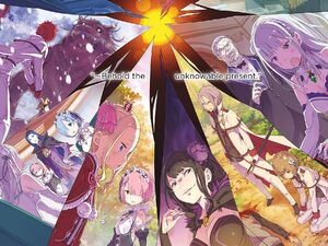 ReZero Volume 12 alternate timelines Illustration