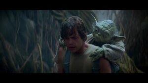 Empire Strikes Back Yoda Training Luke part 1 (HD)