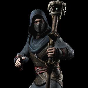 Kung Jin Hooded Render