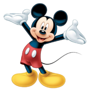 Mickey Mouse render