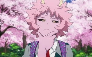 Mina Intensely Thinking