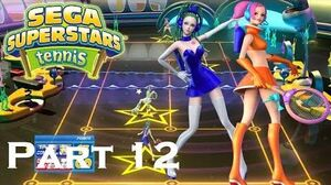 SEGA Superstars Tennis-SEGA Superstars Tennis- Space Channel 5 (Missions 1 & 2)