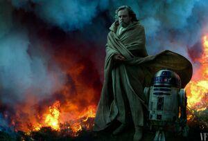 TROS - Luke Skywalker and R2-D2