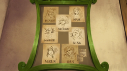 The Seven Deadly Sins wanted posters Anime