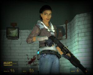 Alyx Vance - Shotgun 2