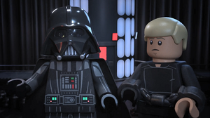 Darth Vader and Luke - The LEGO Star Wars Holiday Special