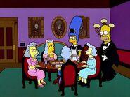 Homer & Marge as Servants
