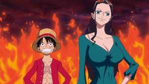Luffy and Robin