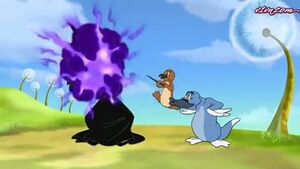 T&J and the wizard of oz - tom and Jerry outsmarting the wicked witch of the west