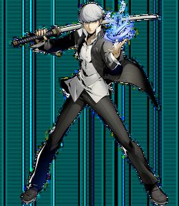 Yu Narukami (BlazBlue Cross Tag Battle, Character Select Artwork)