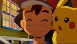 Ash and Pikachu (SM026)