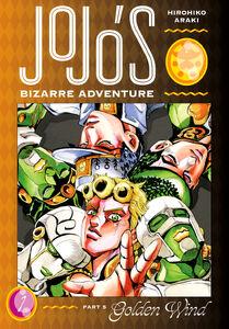JoJo's Bizarre Adventure Part 05 - Golden Wind v01 Cover