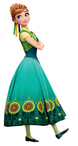 Anna Frozen Fever Render