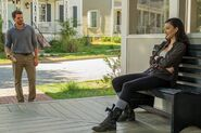 Christian Serratos as Rosita Espinosa in The Walking Dead 122