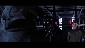 Darth Vader obeying