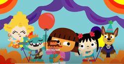 Deema Bobgoblin Dora Kai-Lan Chase Party.JPG