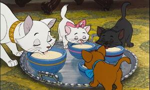 Aristocats Dinner