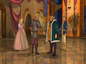 Barbie as Rapunzel King Wilhelm Frederick Prince Stefan