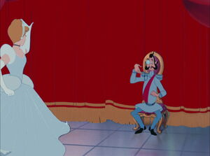 Cinderella says good bye to Grand Duke