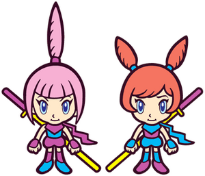 Kat and Ana WarioWare Mega Microgames