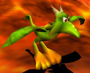 Kazooie dragon