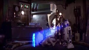 Luke Skywalker Comes Into Possession Of R2-D2 & C-3PO - Star Wars A New Hope